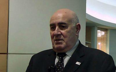Ibrahim Dabdoub, deputy chairman of the International Bank of Qatar. (screen capture: YouTube/The Banker)