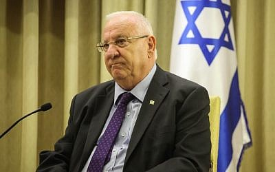 President Reuven Rivlin (photo credit: Flash90)