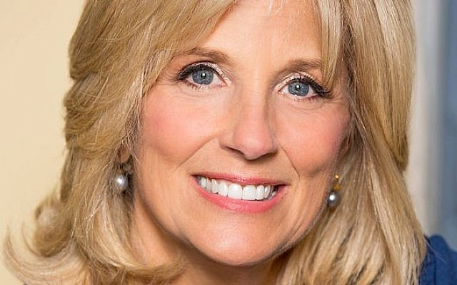 Jill Biden (photo credit: CC BY Wikipedia)