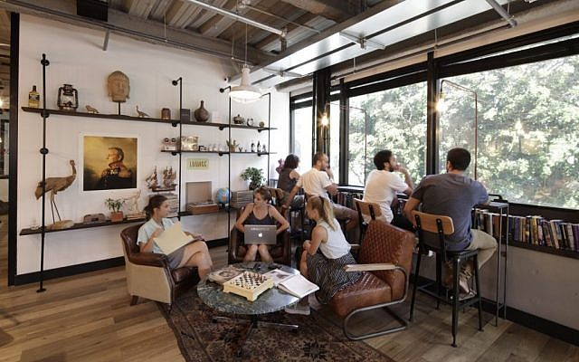 Mindspace, the latest cooperative workspace in Tel Aviv (photo credit: Courtesy Mindspace)