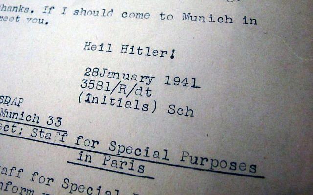 A Nuremberg Stenographers Lost Mementos Finally Go Under The Hammer