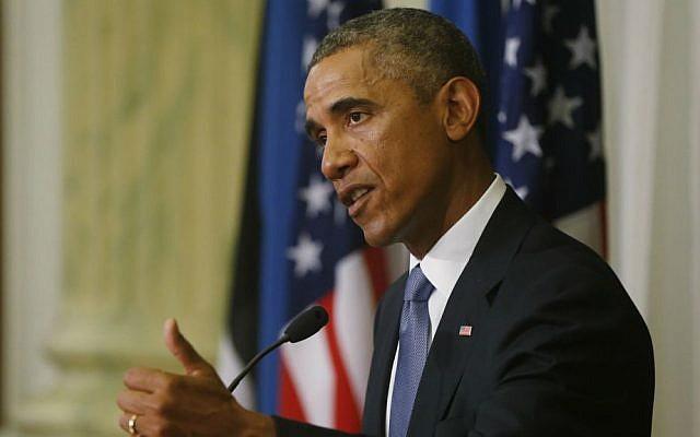 President Barack Obama speaks during a news conference, Wednesday, Sept. 3, 2014. (photo credit: AP/Charles Dharapak)