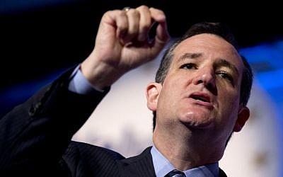 Senator Ted Cruz, R-Texas, speaks at the 2014 Values Voter Summit in Washington, September 26, 2014. (AP/Manuel Balce Ceneta)