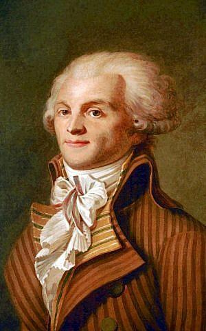 Portrait of Maximilien de Robespierre (photo credit: CC BY Wikipedia)
