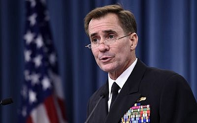 US State Department Spokesman John Kirby. (AP/Susan Walsh)