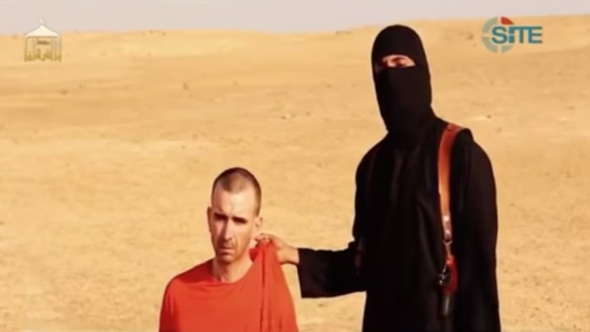 British aid worker David Cawthorne Haines is threatened in a video released by the Islamic State (Photo credit: Youtube screen capture)