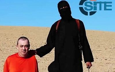 Alan Henning in an Islamic State video released September 14