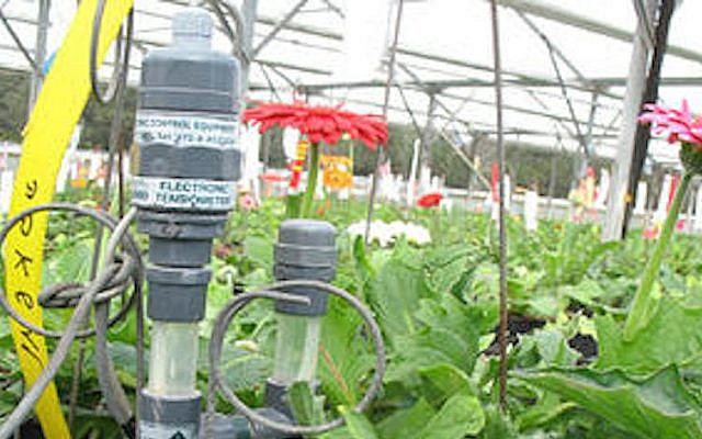 An AutoAgronom fertigation monitoring system in action (Photo credit: Courtesy)