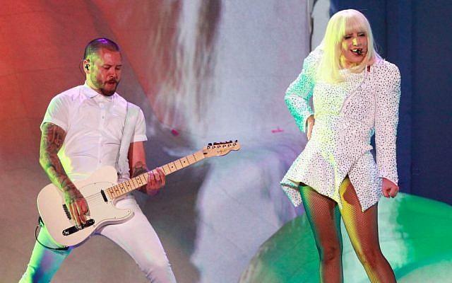 Lady Gaga in performance. (photo credit: PR Sand)