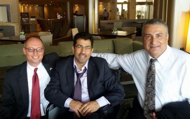 Syrian opposition leader Kamal al-Labwani at the ICT conference in Herzliya, September 11, 2014 photo credit: Moti Kahana)