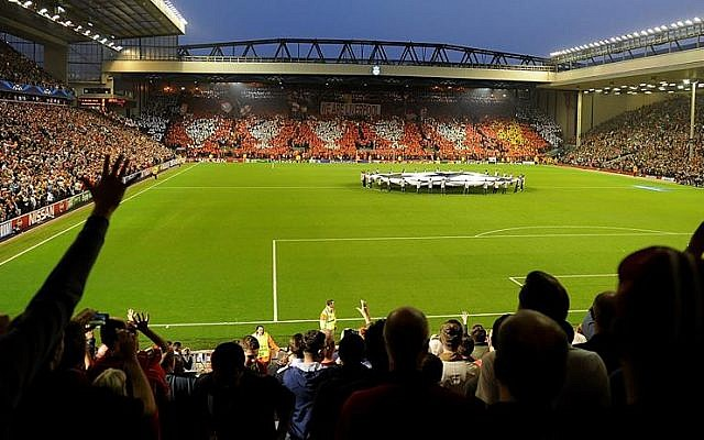 Anfield, the home of Liverpool FC. (photo credit: courtesy/Facebook)