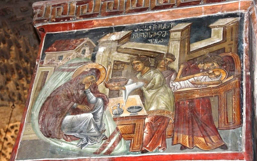 Christian history depicted at the Monastery of the Cross (photo credit: Shmuel Bar-Am)