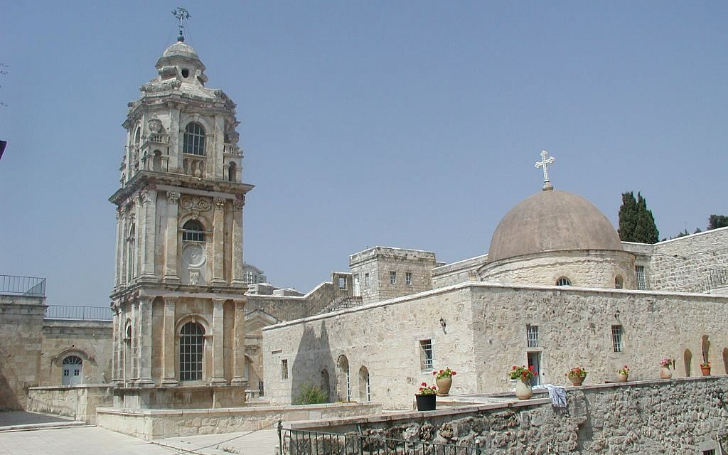 The rooftop of the Monastery of the Cross (photo credit: Shmuel Bar-Am)