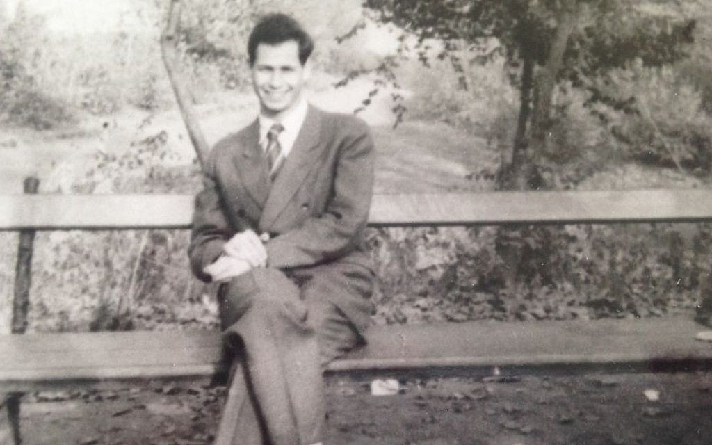 American expat Victor Grossman as a young man in East Germany, early 1950s (photo credit: Courtesy)