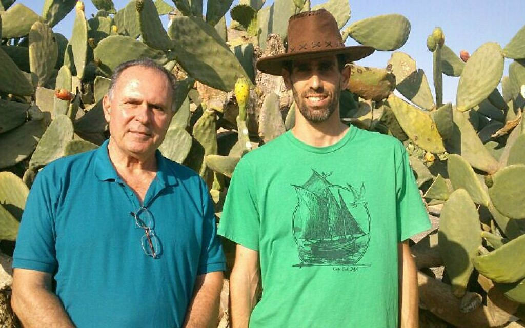 A prickly pear pioneer | The Times of Israel