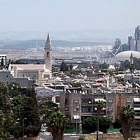 View of Ramle (Yossi Zamir/Flash90)