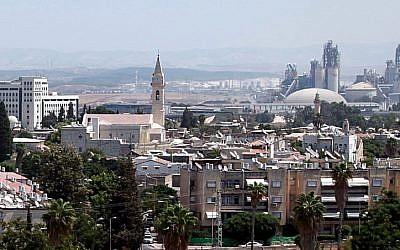 View of Ramle (Yossi Zamir/Flash90)