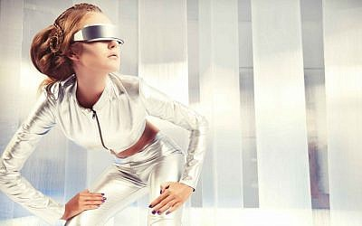 Futuristic fashion (stock image) via Shutterstock.