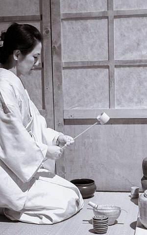 A Japanese tea ceremony, another event coming to Jerusalem as part of Japanese culture week (Courtesy)