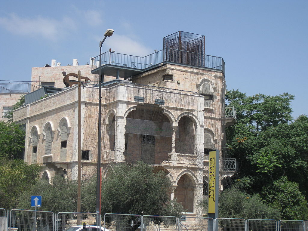 The Museum on the Seam, situated in a former Palestinian home that became a military outpost and later a museum about coexistence and dialogue (photo credit: Avi Deror/CC-BY-SA-3.0)