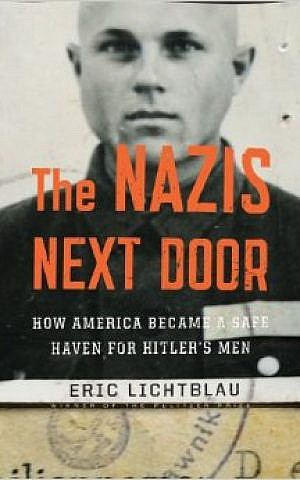 Cover of 'The Nazis Next Door' by Eric Lichtblau.