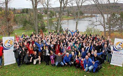 Limmud Canada participants (Yossi Aloni, Courtesy of Limmud FSU)