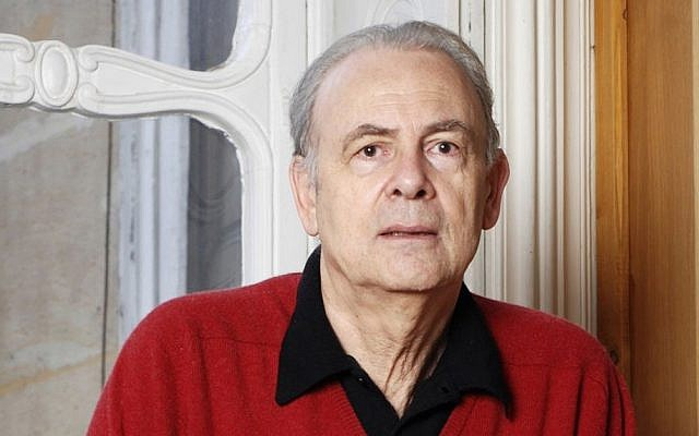 French novelist Patrick Modiano, who has won the 2014 Nobel Prize for Literature, it was announced Thursday, Oct. 9, 2014. (photo credit: AP Photo/Catherine Helie, Gallimard)
