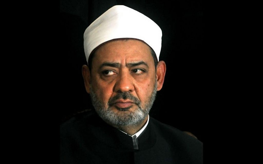 Ahmed el-Tayeb, the grand Sheik of Cairo's Al-Azhar, in a photo from 2011 [photo credit: AP]