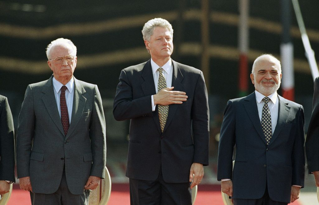 rotación Untado Por separado  US marks 25 years of peace treaty between Jordan and Israel | The ...