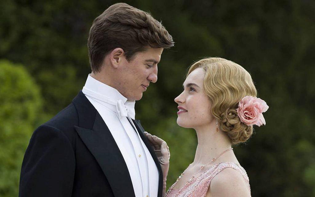 Atticus Aldridge (Matt Barber) and Lady Rose MacClare (Lily James) in 'Downton Abbey.' (Courtesy of ITV)