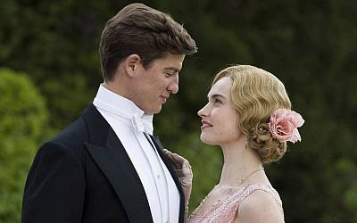 Atticus Aldridge (Matt Barber) and Lady Rose MacClare (Lily James) in 'Downton Abbey.' (Courtesy of ITV)