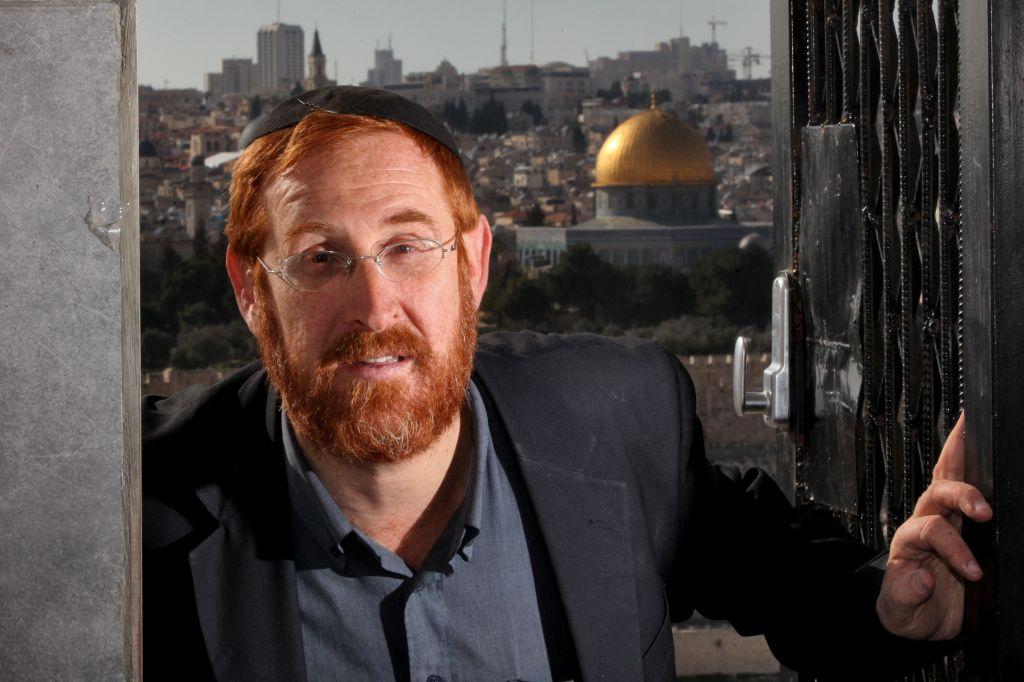 Linda Olmert's HALIBA colleague Rabbi Yehudah Glick (photo credit: Yossi Zamir/Flash90)