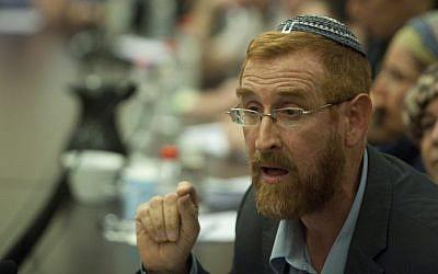 Rabbi Yehudah Glick (Photo credit: Flash90)