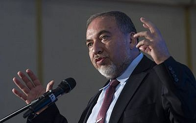 Avigdor Liberman (photo credit: Miriam Alster/Flash90)