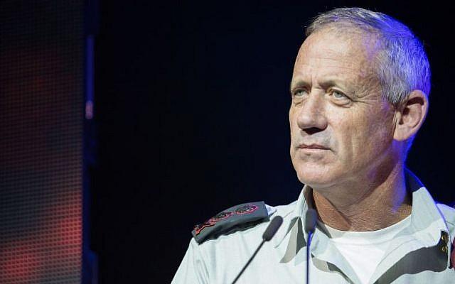 IDF Chief of Staff Benny Gantz, September 29, 2014. (photo credit: Noam Revkin Fenton/Flash90)