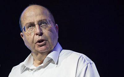 Defense Minister Moshe Ya'alon. (Photo credit: Noam Revkin Fenton/Flash90)
