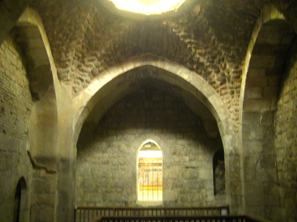 Part Of A Medieval Bathhouse Or Hamam Built In 1327 By The Mamluks