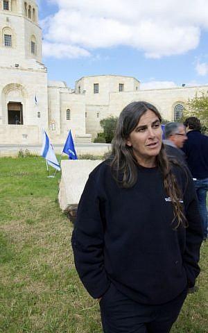 Dr. Rina Avner of the Israel Antiquities Authority. (photo credit: Moti Tufeld)