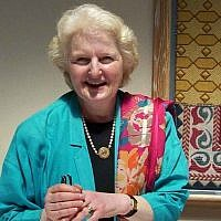 Rabbi Baroness Julia Neuberger in 2005. (courtesy the Association of Jewish Women's Organisations in the UK)