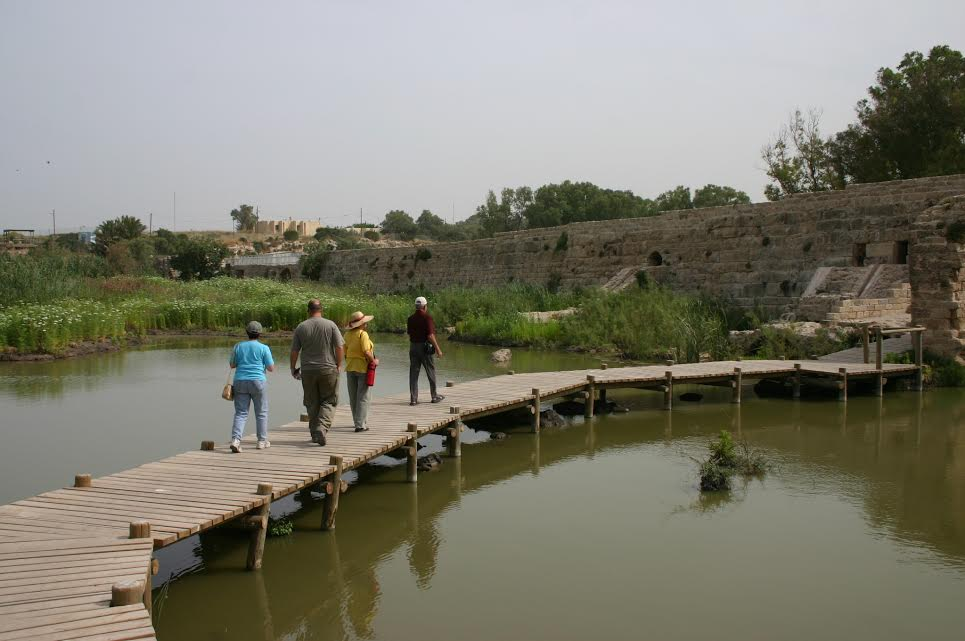 Lake Miglash at Nahal Taninim (photo credit: Shmuel Bar-Am)