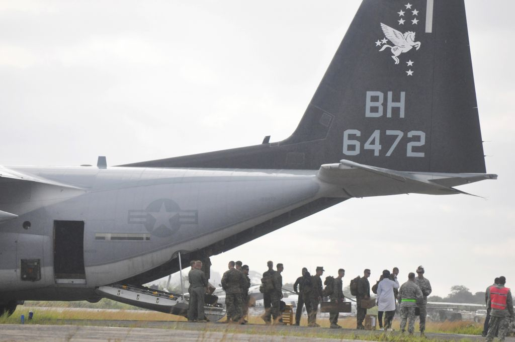 US military planes arrive in Ebola hot zone | The Times of