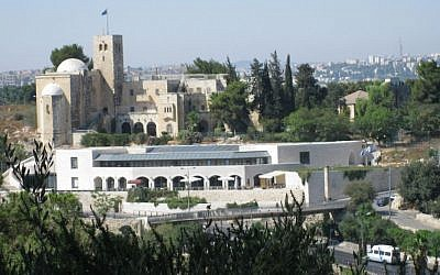 Menachem Begin Heritage Center (Photo credit: CC BY-SA 3.0 by Deror Avi/ Wikimedia Commons)