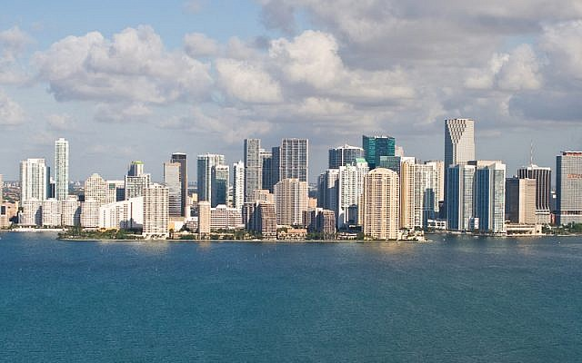 Illustrative photo of Miami (Shutterstock/JTA)