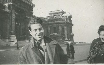 Norbert Stern in Brussels in about 1940. (Courtesy Roger Peltzman/JTA)