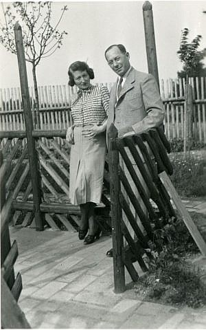 Paul and Hedy Strnad were rejected in their efforts to seek safe haven in the United States from Czechoslovakia on the eve of the Holocaust. (Courtesy Jewish Museum Milwaukee/JTA)
