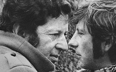 Director Roman Polanski and producer Gene Gutowski, seen together in 1967. (AP File Photo)