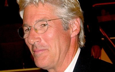 Actor Richard Gere (photo credit: CC BY Wikipedia)