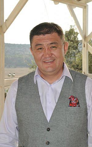 Dorjpalam Amar, Israel's honorary consul in Mongolia (photo credit: Shlomi Amsalem)