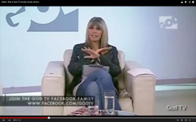 Wendy Alec details her husband's betrayal on God TV (YouTube Screenshot)