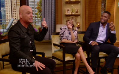 Howie Mandel talks about Ebola on 'Live with Kelly and Michael' (screen capture: YouTube)
